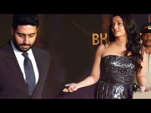 Abhishek Bachchan INSULTS Aishwarya Rai, Leaves Interview - FULL COVERAGE