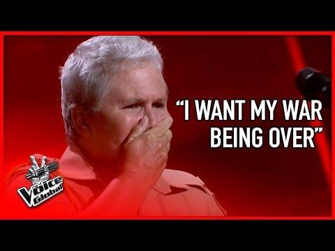 Xxx Mp4 WAR VETERAN Made The Voice Coaches CRY STORIES 3 3gp Sex