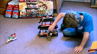 Oliver's Lego 2507 Ninjago Fire Temple Review