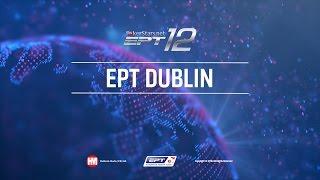 Evento Principal de poker en vivo del EPT Dublín 2016, Mesa Final con cartas descubiertas