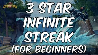 3 Star Infinite Arena Streak Guide For Beginners - Marvel Contest Of Champions