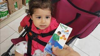 YAPRAK Bebeğin Sütü Bitmiş A101 Markete Gittik Eğlence Tv