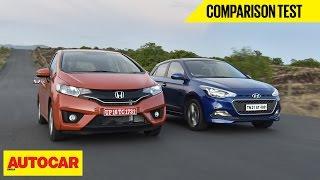 2015 Honda Jazz vs Hyundai Elite i20 | Comparison Test | Autocar India