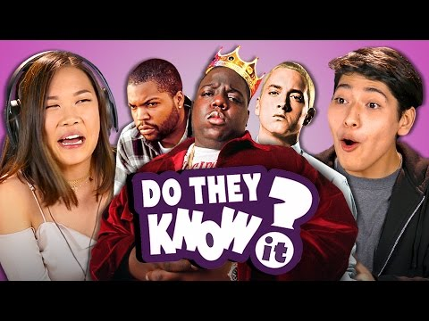 DO TEENS KNOW 90s HIP HOP REACT Do They Know It