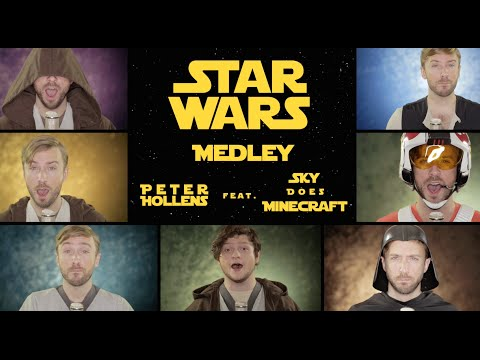 Star Wars Medley The Force Awakens feat. Sky Does Minecraft