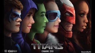 CW's TITANS 2018 | Alan Ritchson , Minka Kelly