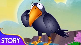The Thirsty Crow Story | Moral Stories For Children | TinyDreams Kids