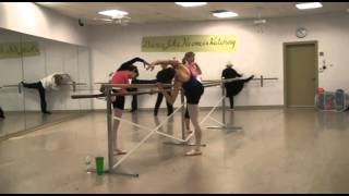 Ballet with Ruth Doering at Abby Bella Dance Studio