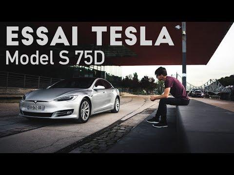 Faire un Lyon Paris en Tesla Model S 100 électrique