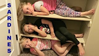 SARDINES IN AN EMPTY HOUSE! | NEW HOUSE HIDE AND SEEK