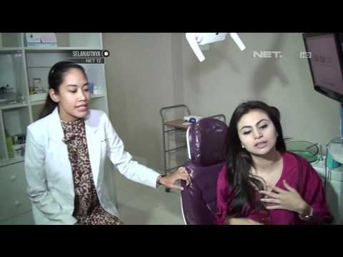 Jelang Lebaran, Asha Shara Jalani Perawatan Pemutihan Gigi