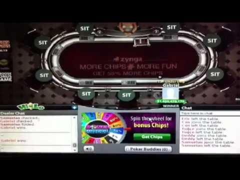 Hacker chip poker zynga 2012 YouTube.MP4