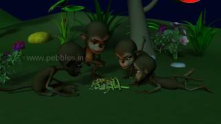 Panchatantra Tales Marathi For Children | The Bird & Monkeys | पंचतंत्र मराठी गोष्टी | Moral Stories