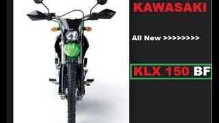 ALL NEW Kawasaki KLX 150 BF Best Light Trail....2015 !!!!!