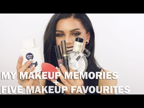 My first makeup memories + five favourites