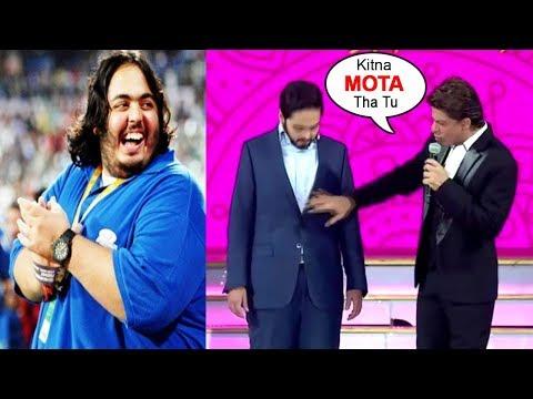 Anant Ambani s BEST Reply To Shahrukh Khan Making FUN Of His FAT Loss RIL 40yrs