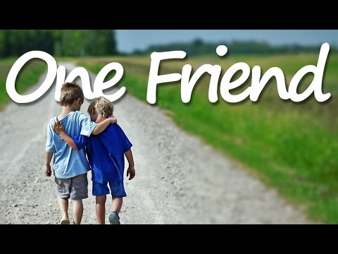 ONE FRIEND Lyrics Dan Seals