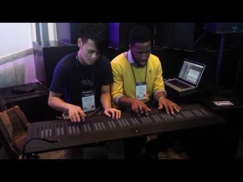 Cory Henry and Heen Wah play Chick Corea s Spain on the Roli Seaboard at NAMM 2014