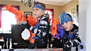 Nerf War : Payback Time Squad New Blasters