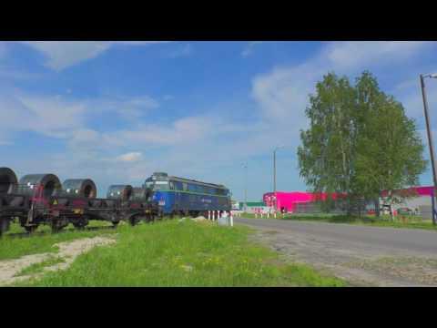 ST45-06 manewruje ze stalowym - Bortatycze