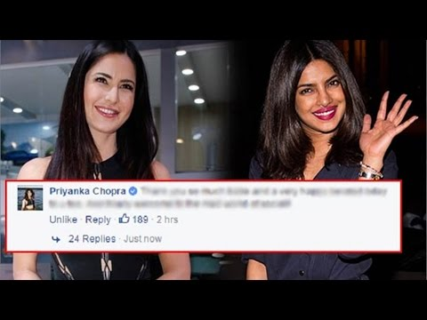 Katrina Kaif's Facebook Chat With Priyanka Chopra Is Awesome!