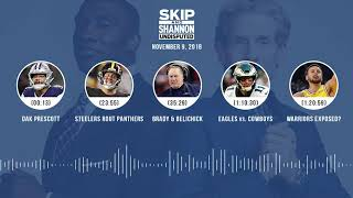UNDISPUTED Audio Podcast (11.09.18) with Skip Bayless, Shannon Sharpe & Jenny Taft | UNDISPUTED