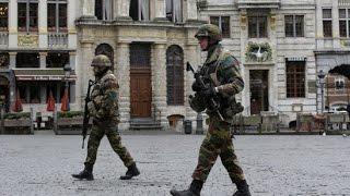 انفجاران في ضاحية سكاربيك خلال حملة مداهمة للشرطة البلجيكية