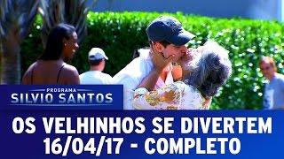 Os Velhinhos Se Divertem | Programa Silvio Santos (16/04/17)