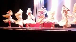 Kathak: Kahe Ched Mohe by Pandit Birju Maharaj's Students at Nazaakat 2014