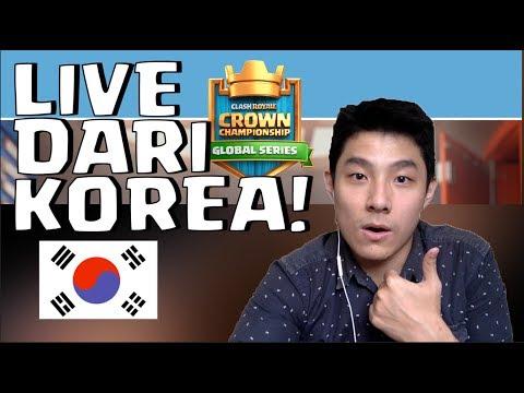 SIAPA YANG AKAN KE SHANGHAI? - TOURNAMENT CLASH ROYALE ASIA LIVE DARI KOREA (DAY 3)!