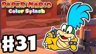 Paper Mario: Color Splash - Gameplay Walkthrough Part 31 - Sunset Express 100%! (Nintendo Wii U)