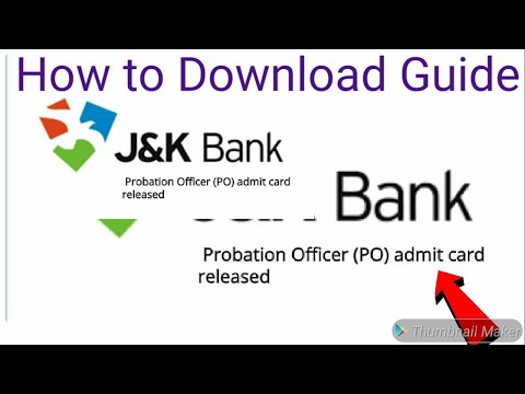 Xxx Mp4 How To Downlod Call Letter For JK Bank PO 2019 JK Bank Banking Associate 2019 Admit Card Released 3gp Sex