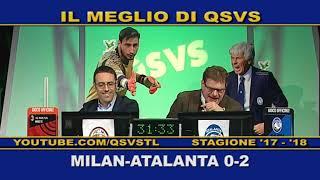 QSVS - I GOL DI MILAN - ATALANTA 0-2  - TELELOMBARDIA / TOP CALCIO 24