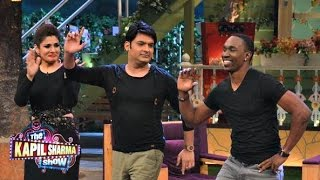 Dwayne Bravo Champion Dance On The Kapil Sharma Show!