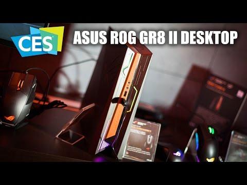 CES 2017 ASUS ROG GR8 II Gaming Desktop