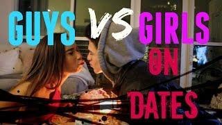Guys VS Girls On Dates (w/ MyLifeAsEva) | Brent Rivera