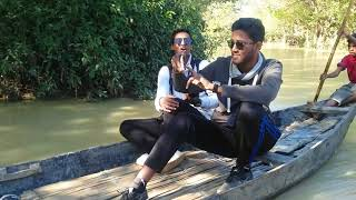 Spent a great moments...  with boatman singer Mainuddin at ratargul in Shylet