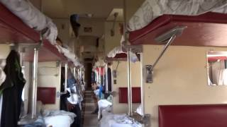 Walking in a train from Moldova to Ukraine...