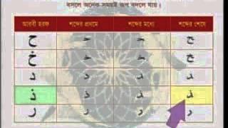 Learning Arabic, Bangla Tutorial Part 1