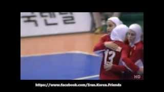 Iranian women futsal into Asian Indoor Games final
