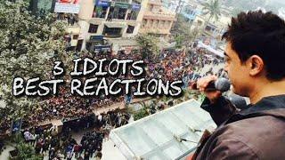 3 Idiots Craze In India | Aamir Khan, R Madhavan, Sharman Joshi | Best Reaction Of Fans
