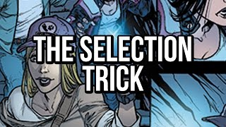 Photoshop comic coloring tutorial: The Selection Trick!