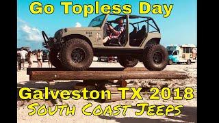 Go Topless Day Galveston Texas 2018