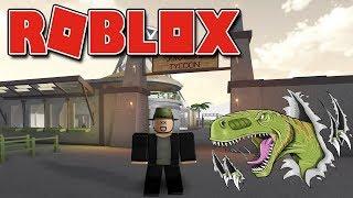 Roblox - O NOVO ZOOLÓGICO DE DINOSSAUROS ( Jurassic Tycoon )