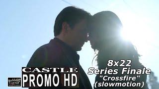 """Castle 8x22 Promo in slowmo & uncropped  """"Crossfire""""  Season 8 Episode 22   Series  Finale"""