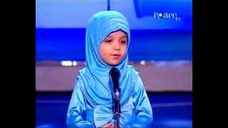 Cute Islamic speaker on PEACE TV