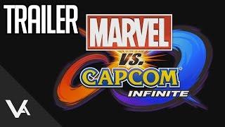 Marvel Vs Capcom Infinite PSX Trailer (1080p 60fps)