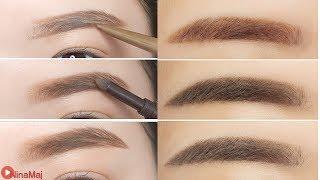 Hot วิธีเขียนคิ้วสไตล์สาวเกาหลี - Korean Style Eyebrows Tutorial