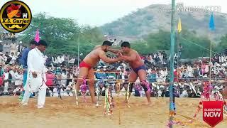 अजय पहलवान सोहना और भीम पहलवान अलवर, 81 हजार रुपये कि कुश्ती