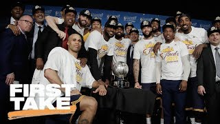 Stephen A. Can't Believe Max Thinks Cavs Are That Good | First Take | May 26, 2017